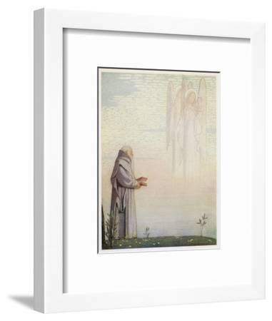 Archbishop of Canterbury Saint-Cayley Robinson-Framed Giclee Print
