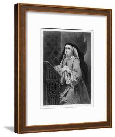 Of Avila Spanish Mystic and Saint- Schopin-Framed Giclee Print