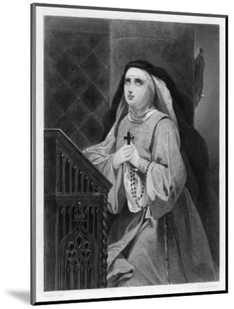 Of Avila Spanish Mystic and Saint- Schopin-Mounted Giclee Print