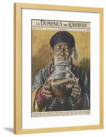 """Traditional """"Cure-All"""" from China, Black Tea-Walter Molini-Framed Giclee Print"""