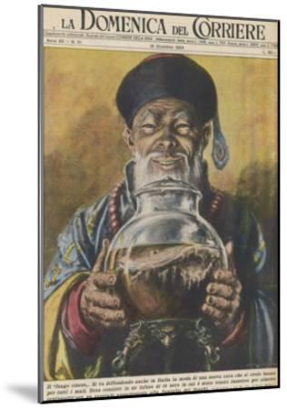 """Traditional """"Cure-All"""" from China, Black Tea-Walter Molini-Mounted Giclee Print"""