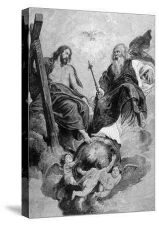 Jesus of Nazareth-Peter Paul Rubens-Stretched Canvas Print