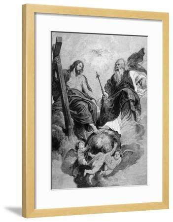 Jesus of Nazareth-Peter Paul Rubens-Framed Giclee Print