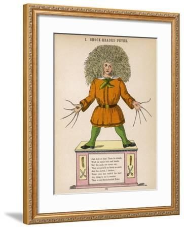 Shock Headed Peter-Heinrich Hoffmann-Framed Giclee Print