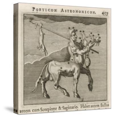 Centaurus Star Figure-Gaius Julius Hyginus-Stretched Canvas Print