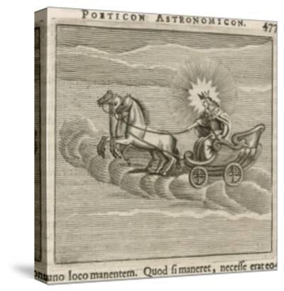Sun in Chariot, 1681-Gaius Julius Hyginus-Stretched Canvas Print