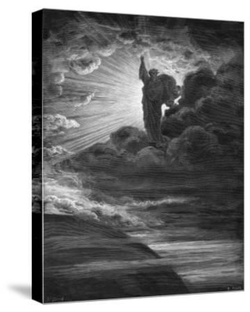 God Creates Light-H. Pisan-Stretched Canvas Print