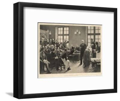 Charcot and Asylum Patient-A. Lurat-Framed Giclee Print