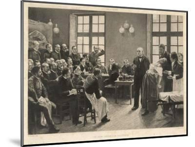 Charcot and Asylum Patient-A. Lurat-Mounted Giclee Print