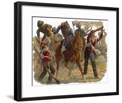 Indian Mutiny 1857-Harry Payne-Framed Giclee Print
