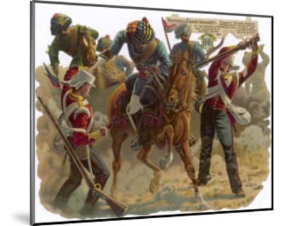 Indian Mutiny 1857-Harry Payne-Mounted Giclee Print