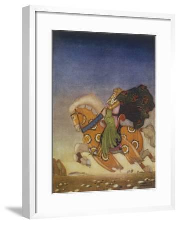 Tristram Carries Isolde Away to be His Uncle's Wife- Mackenzie-Framed Giclee Print