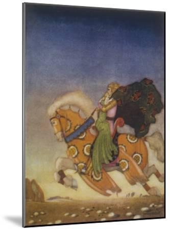 Tristram Carries Isolde Away to be His Uncle's Wife- Mackenzie-Mounted Giclee Print