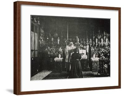 Abbe Julio Exorcises-Abbe Julio-Framed Giclee Print