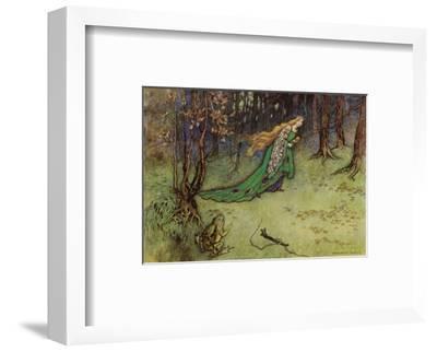 Frog Prince-Warwick Goble-Framed Premium Giclee Print