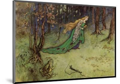 Frog Prince-Warwick Goble-Mounted Premium Giclee Print