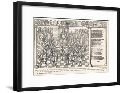 First Crusade-Regnault Grand-Framed Giclee Print