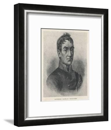 Lachlan Macquarie British Soldier and Colonial Administrator-G. Kruell-Framed Giclee Print