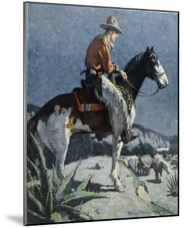 The American Cowboy-Sidney Riesenberg-Mounted Giclee Print