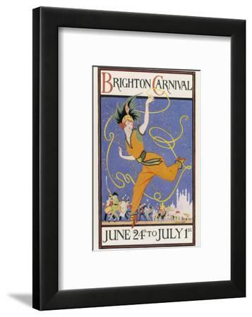 Poster for the Brighton Carnival 24 June to 1 July-Conrad Leigh-Framed Giclee Print