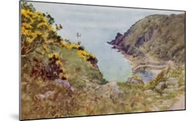 Cornish Scenery: Lamorna Cove-G^f^ Nicholls-Mounted Giclee Print