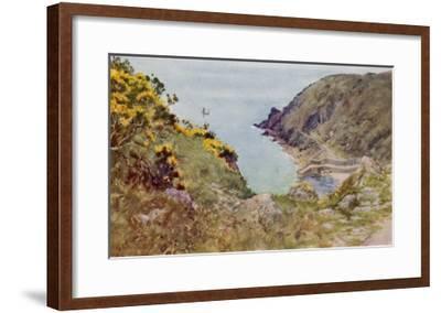 Cornish Scenery: Lamorna Cove-G^f^ Nicholls-Framed Giclee Print