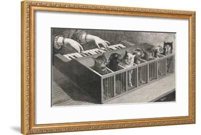 Variations on a Catatonic Scale- Poyet-Framed Giclee Print