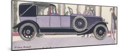 Renault Admired-Jean Grangier-Mounted Giclee Print