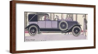Renault Admired-Jean Grangier-Framed Giclee Print
