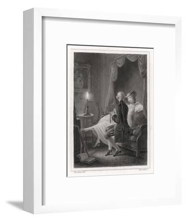 Candide and Cunegonde-Lecomte-Framed Giclee Print