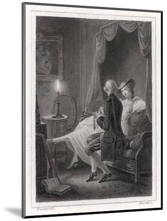 Candide and Cunegonde-Lecomte-Mounted Giclee Print