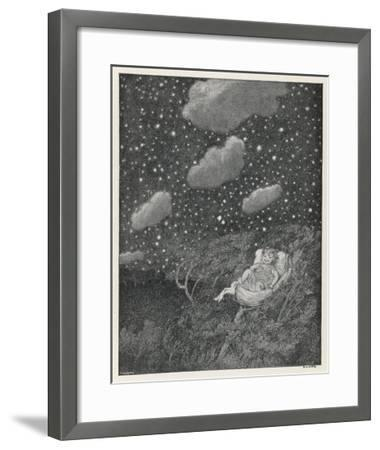 Hush-A-Bye Baby on the Tree Top-S.h. Sime-Framed Giclee Print