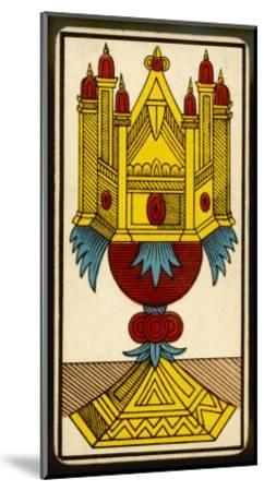 Tarot: The Ace of Cups--Mounted Giclee Print