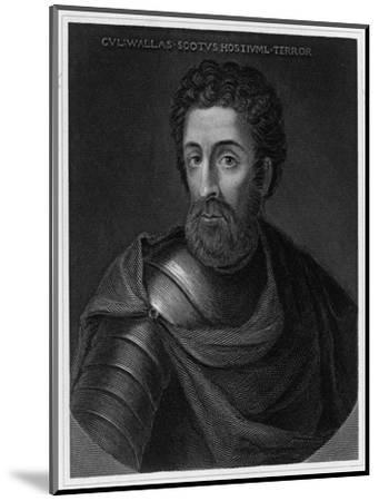 Sir William Wallace Scottish Patriot--Mounted Giclee Print