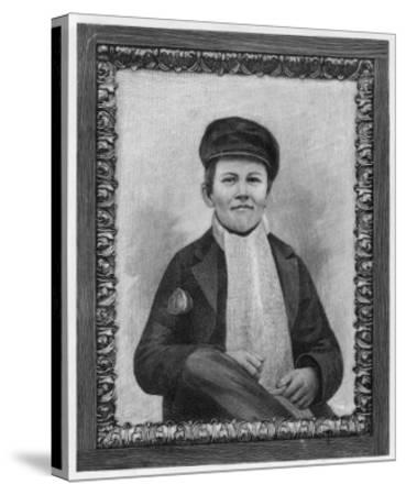 Thomas Alva Edison as a Boy--Stretched Canvas Print