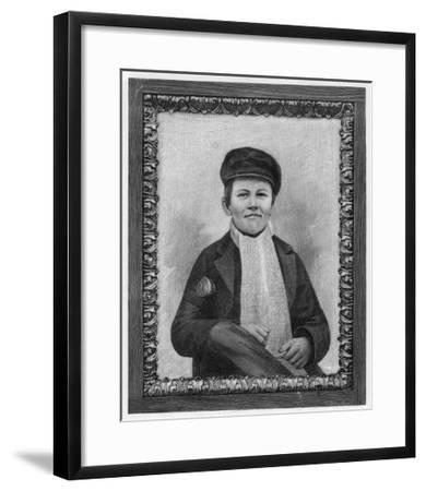 Thomas Alva Edison as a Boy--Framed Giclee Print