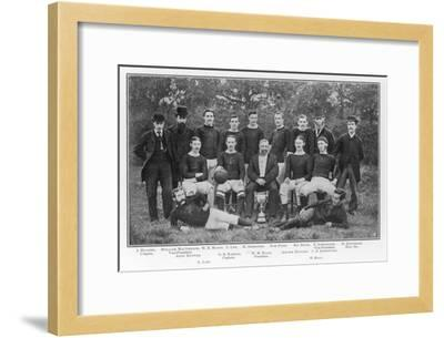 Aston Villa an Early Team Picture--Framed Giclee Print