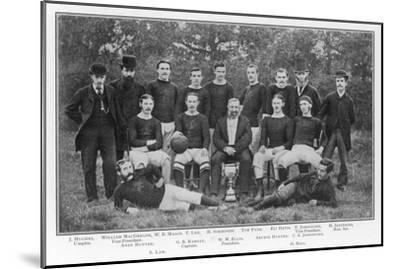 Aston Villa an Early Team Picture--Mounted Giclee Print