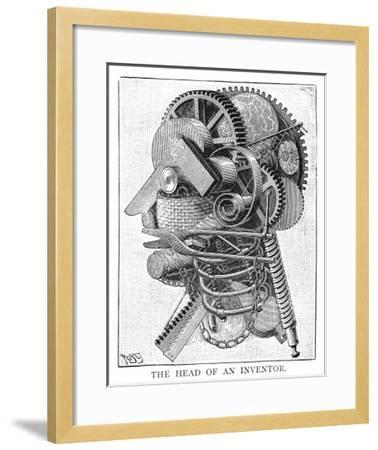 The Inventor--Framed Giclee Print