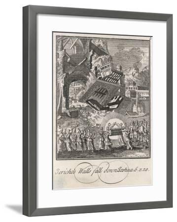 Siege of Jericho--Framed Giclee Print