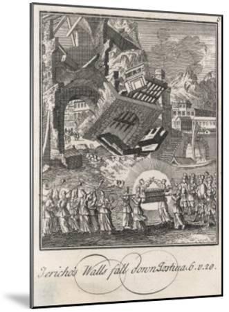 Siege of Jericho--Mounted Giclee Print
