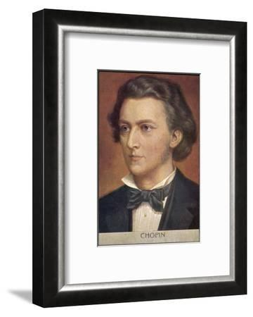 Frederic Chopin Polish Musician--Framed Giclee Print
