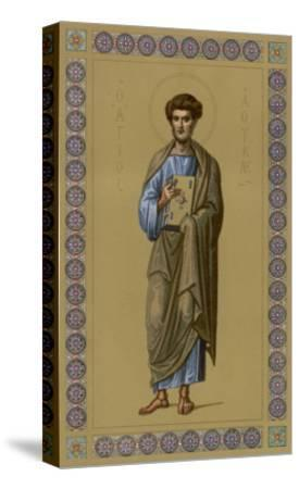 Saint Luke the Evangelist Doctor and Painter--Stretched Canvas Print