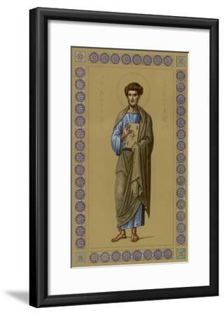 Saint Luke the Evangelist Doctor and Painter--Framed Giclee Print