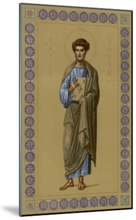 Saint Luke the Evangelist Doctor and Painter--Mounted Giclee Print