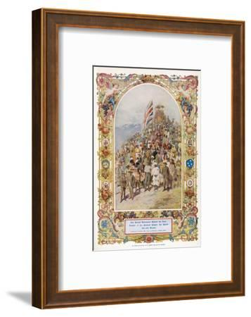 Citizens of the British Empire the Greatest Empire the World Has Ever Known--Framed Giclee Print