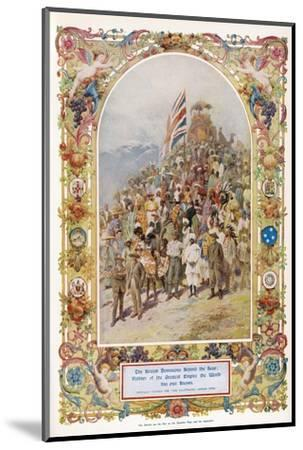 Citizens of the British Empire the Greatest Empire the World Has Ever Known--Mounted Giclee Print