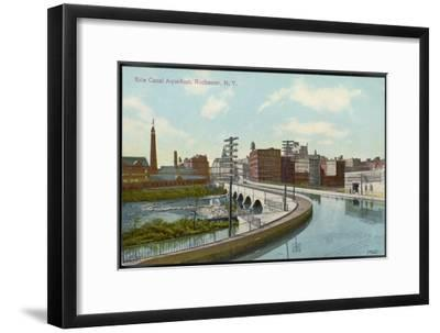 Erie Canal the Canal Aqueduct at Rochester New York--Framed Giclee Print