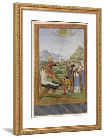 Helena Empress and Saint Discovers the Remains of the Cross on Which Jesus was Crucified--Framed Giclee Print