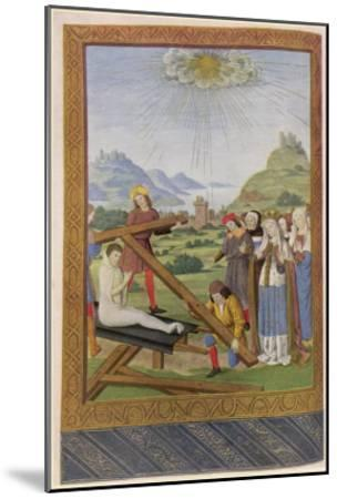 Helena Empress and Saint Discovers the Remains of the Cross on Which Jesus was Crucified--Mounted Giclee Print